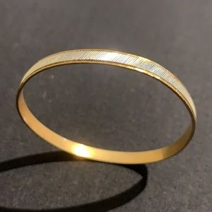 VINTAGE Gold and Silver Bangle